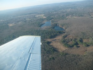 Fitzgerald Lake from air