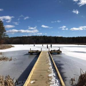 New FLCA Boardwalk in Winter